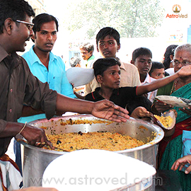 Feeding Poor for 108 People