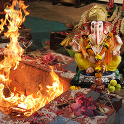 Individual Ganesha Homa at Powerspot