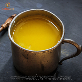 5 Kilogram of Ghee Sponsorship for Shivaratri Ceremonies