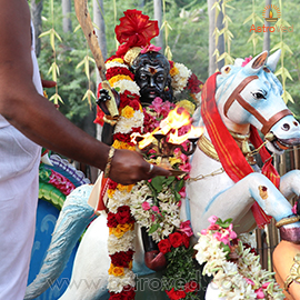 Individual Karuppaswamy Fire Prayer (Homa)