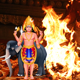 Individual Kapala Bhairava Homa (6th Form of Bhairava)