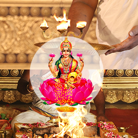 Mahalakshmi Homa and Ashtottara Archana