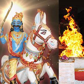 Individual Karuppasamy Homa at Rameshwaram