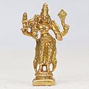 Energized 2.5 Inch 5 Metal Kamakshi Statue