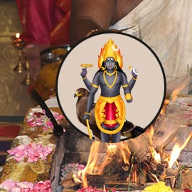 Individual Krotha Bhairava Homa (4th Form of Bhairava)