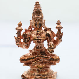 Energized 3-Inch Mahalakshmi Statue