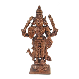 Energized 3.5-Inch Muruga Statue