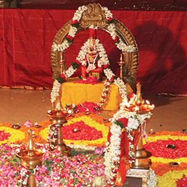Bhagavati Seva Pooja At the End of Aadi Month