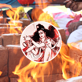 Rudra Homa (Fire Lab for Rudra: Form of Lord Shiva)