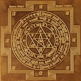 Energized 3-Inch Sarva Aikya Maha Yantra