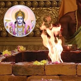 Sudharshana Homa (Fire Lab for Vishnus Supreme Weapon)