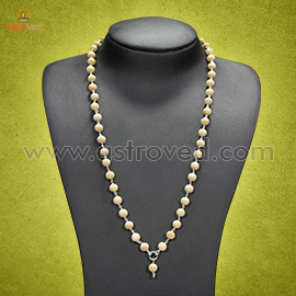 Energized Silver Stringed Tulsi Mala