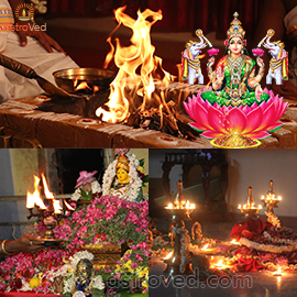 VARALAKSHMI VRATHAM AND BHAGAVATI SEVA COMBO PACKAGE