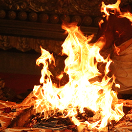 Grand Chandi Homa (Fire Prayer) On Vijaya Dasami
