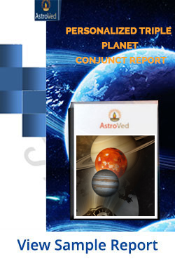 Personalized Triple Planet Conjunct Report