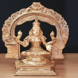 Lakshmi Statue 6 inch with Arch