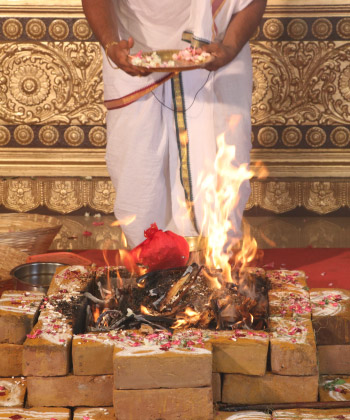 Avahanti Homa (Fire Lab to Receive Wealth Intelligence and Wellbeing)
