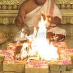 Prathyangira Devi Homa (Fire Lab)