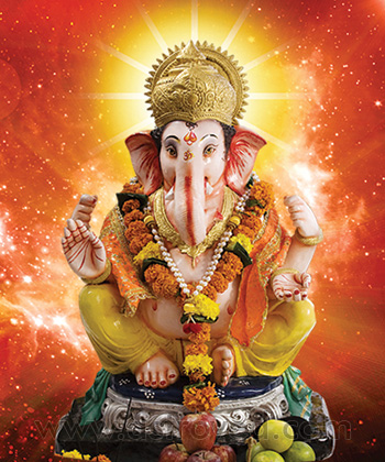 5 Priest Individual Ganapati Atharvashirsha Homa (Fire Lab for Name Fame  Desire Fulfillment and Material Blessings)