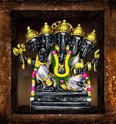 AstroVed Pachamukhi Ganesha Temple