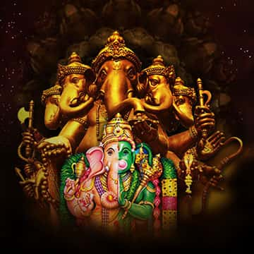 Sponsor 45-Day Ceremonies to Golden Ganesha & Ganesha Anjaneya Installed by Dr. Pillai