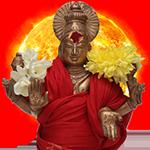 Surya (Sun) at Suriyanar Powerspot