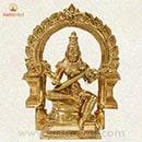 1 Inch Saraswati Statue
