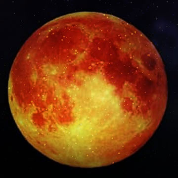 Lunar Eclipse On Uncommon Planetary Alignment Day