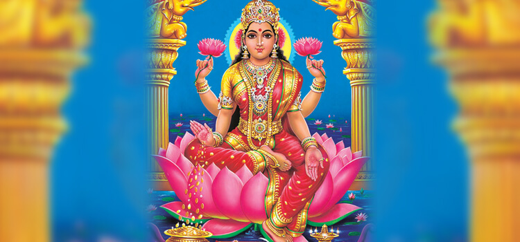 Destroy Poverty with Goddess Lakshmi