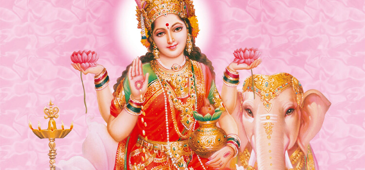 Celebrating Day of Prosperity with Lakshmi