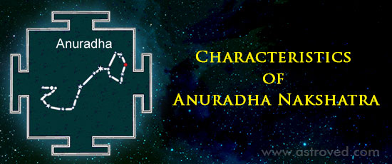 Characteristics of Anuradha Nakshatra -