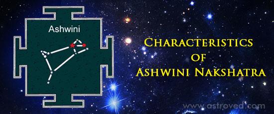 Characteristics of Ashwini Nakshatra