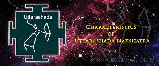 Characteristics of Uttarashada Nakshatra