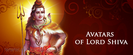 Avatars of Lord Shiva