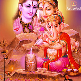 ganesha-worshipping-shiva