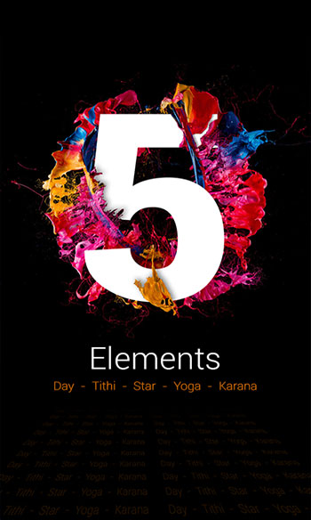 Panchang Five Elements