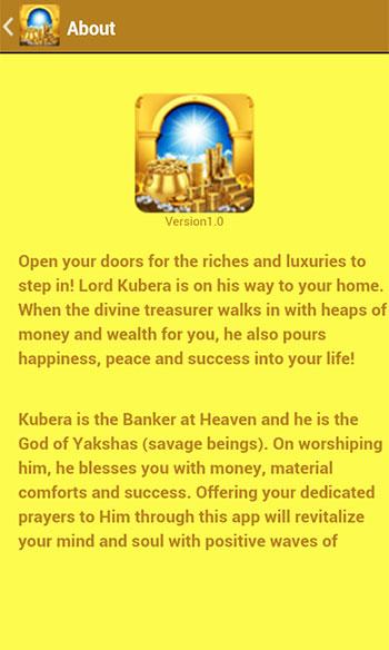 Kubera Pooja & Mantra