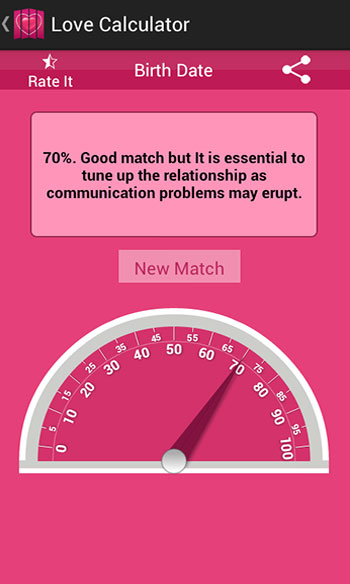 Love & Romance Calculator