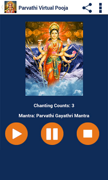 Parvathi Pooja & Mantra