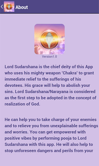 Sudarshana Pooja & Mantra