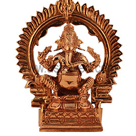 Five-Metal Vinayaka Statue