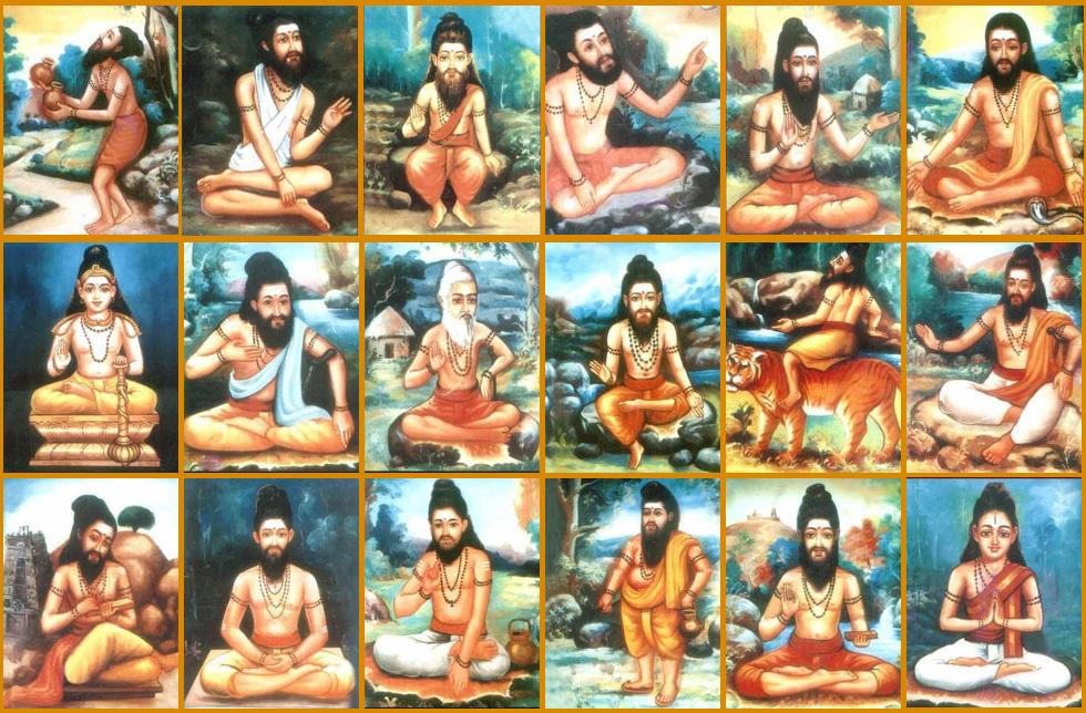 18 Siddha's