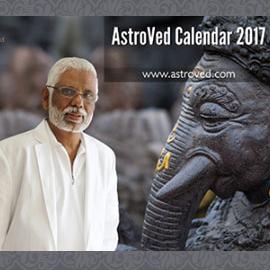 2017 AstroVed calendar