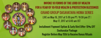GRAND GROUP DASHAVATAR HOMA SERIES