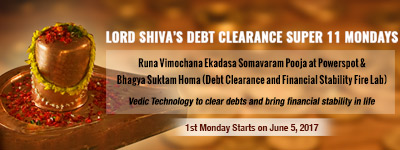 Lord Shiva's Debt Clearance Super 11 Mondays