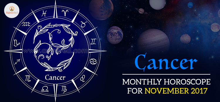 November 2017 Cancer Monthly Horoscope