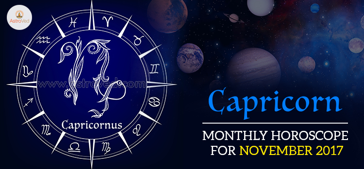 November 2017 Capricorn Monthly Horoscope