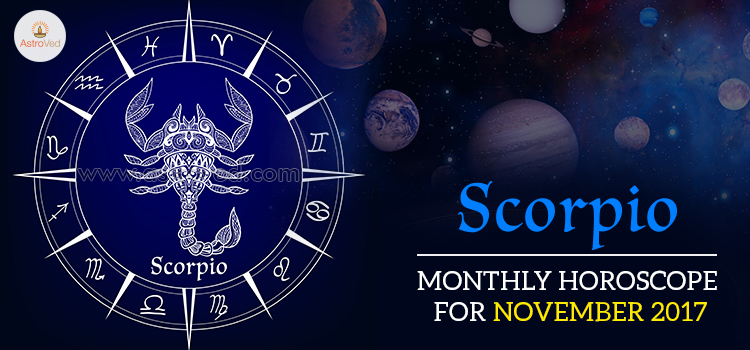 November 2017 Scorpio Monthly Horoscope