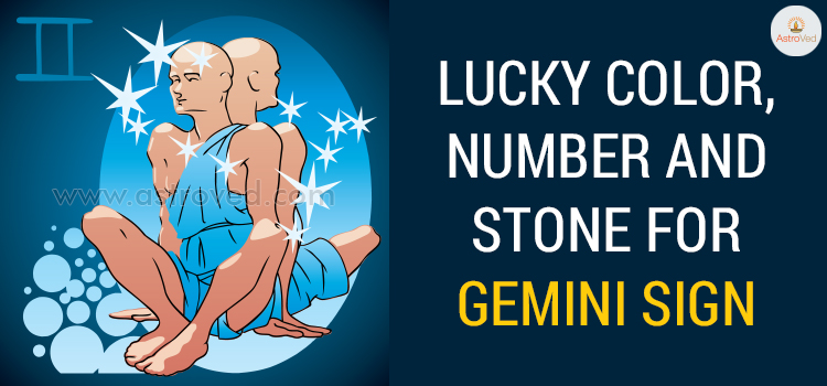 Lucky Color, Number and Stone for Gemini Sign