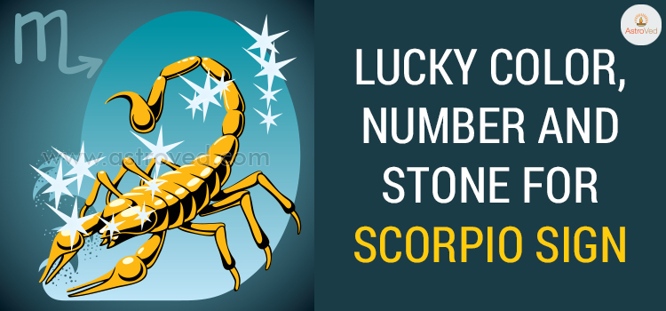 Lucky Color, Number and Stone for Scorpio Sign